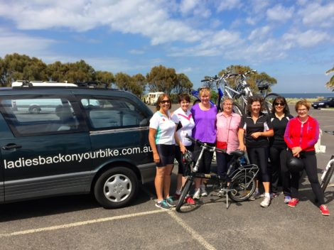 Ladies Back On Your Bike : Learn to ride