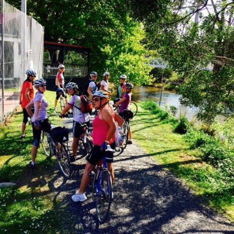 Another Melb Path on offer this week: Cycling from  Seville (Lilydale) -Warburton Trail