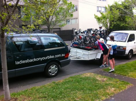 Roadies in Ladies Back On Your Bike