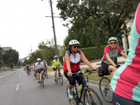 53 ladies from LBOYB are cycling 100km in Conquer Cancer ride, October 22 2016