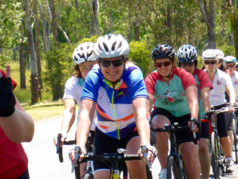 Our great cycling weekend at Bright