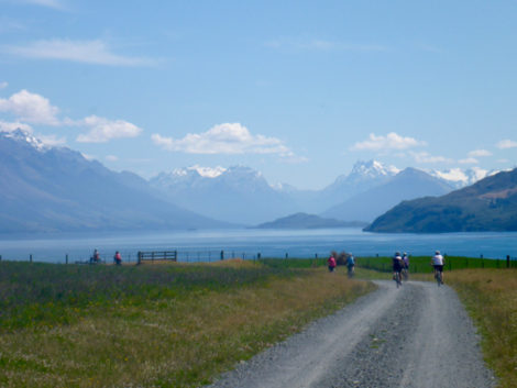 We loved cycling the South Island of New Zealand!