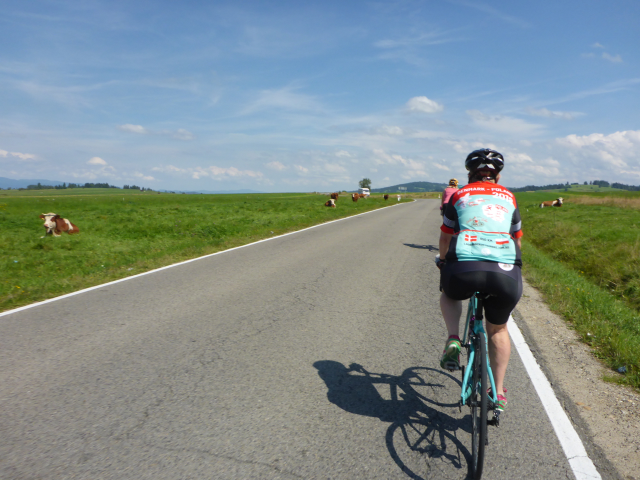 Thoroughly enjoying our cycling in Europe 2018