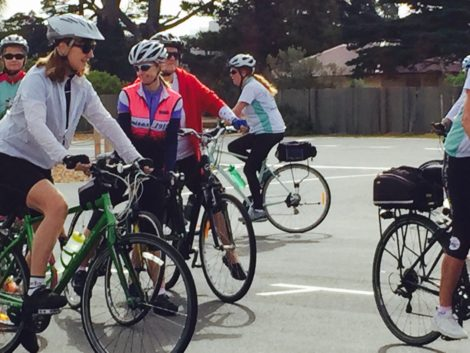 Ladies Back On You Bike, you sure were! At Women's Ride 2015