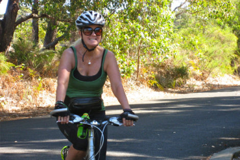 Ladies Back On your Bike also teaches ladies who have never-ever  been on bike.