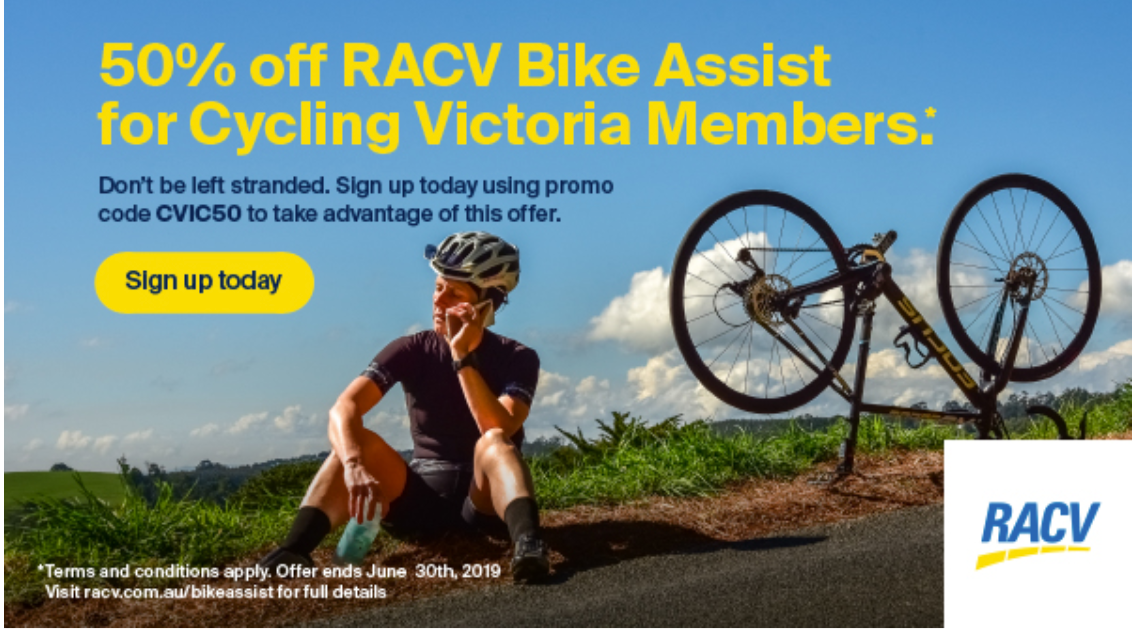 RACV helping ladies cycling